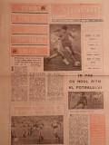 Ziar SPORTUL - Supliment FOTBAL (21.03.1986) STEAUA Bucuresti in semifinale