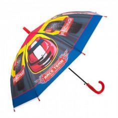 Umbrela pentru baieti, automata Race Team 80 cm Multicolor