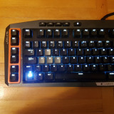 Tastatura mecanica cu iluminare: logitech g710+gaming
