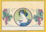 A580 Proba eticheta sticla de vin litografie tiparita la Timisoara