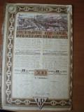 Cumpara ieftin ACTIUNE -  UZINELE DE FIER SI DOMENIILE RESITA 1926  - 1 ACTIUNE - 500 LEI