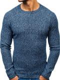 Pulover pentru bărbat albastru Bolf H1810