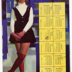 MIHAELA MIHAI CALENDAR 1973 CASA FILMULUI ACIN