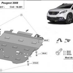 Scut motor metalic si cutie de viteze Peugeot 3008 2017-prezent