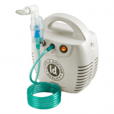 Aparat aerosoli cu compresor Little Doctor LD 211 C, cutie pentru accesorii, 3 dispensere, 3 masti
