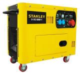 Generator Stanley diesel 6300W Profesional - D-SG6000-1