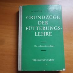 Grundzüge der fütterungslehre – O. Kellner, M. Becker