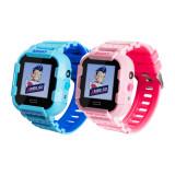 Pachet Promotional 2 Smartwatch-uri Pentru Copii Xkids X20, Albastru si Roz, cu Functie Telefon, Localizare GPS, Apel monitorizare, Camera, Pedometru,