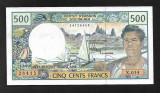 French Polynesia 500 francs