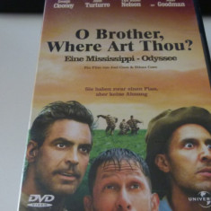 o brother where art thou - dvd