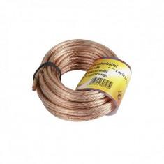 Cablu boxe Hama, lungime 10 m, diametru 2.5 mm