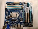 Placa de baza Gigabyte B75M-D3H, socket 1155 DDR3 PCI-e + G460 - poze reale
