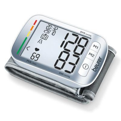 Tensiometru de incheietura BC50 Beurer, extra slim, Argintiu foto