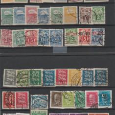 Estonia - Lot timbre vechi