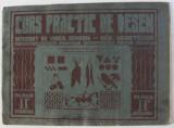 CURS PRACTIC DE DESEN , intocmit de Profesor VIRGIL CONDOIU , pictor DEM . DEMETRESCU , PENTRU CLASA A- II - A SECUNDARA , 1944