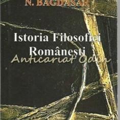 Istoria Filosofiei Romanesti - N. Bagdasar