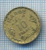 AX 495 MONEDA- MAROC - 10 FRANCS -ANUL 1371(1952) -STAREA CARE SE VEDE, Africa