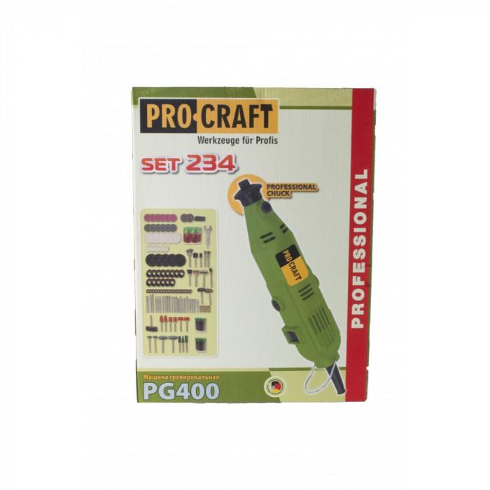 Trusa masina pentru gravat Procraft PG400 400 W 234 accesorii