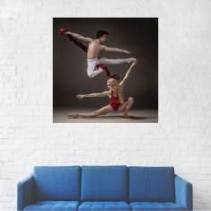 Tablou Canvas, Cuplu, Arte martiale - 20 x 20 cm