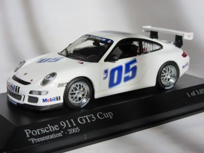 Macheta Porsche 911 GT3 Cup Minichamps 1:43 foto