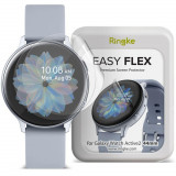 Folie protectie transparenta TPU Case friendly Ringke Easy Flex Samsung Galaxy Watch Active 2 (44mm) 3-Pack