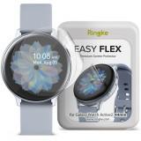 Cumpara ieftin Folie protectie transparenta TPU Case friendly Ringke Easy Flex Samsung Galaxy Watch Active 2 (44mm) 3-Pack