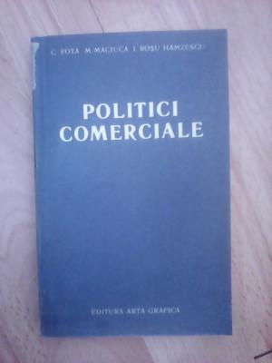 Politici comerciale - C.FOTA ,  M. MACIUCA si I. ROSU HAMZESCU foto