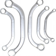 Set 5 chei inelare tip U, 8x10-21x22 mm