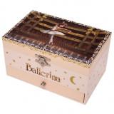Cutie muzicala dreptunghiulara cu sertar Ballerina, Trousselier