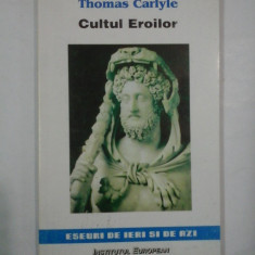CULTUL EROILOR - THOMAS CARLYLE