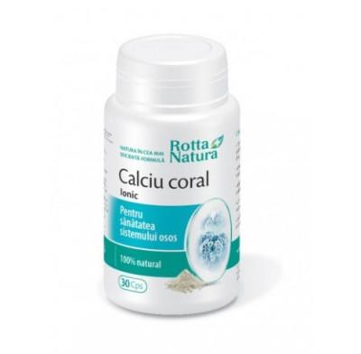Calciu coral Ionic, Rotta Natura (Cantitate cps: 90cps) foto