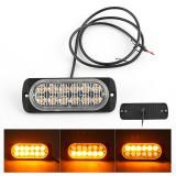 Stroboscoape, lumini avertizare galbene platforma, ATV, Tractor, Jeep, Off Road