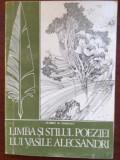 Limba si stilul poeziei lui Vasile Alecsandri- Florin D. Popescu