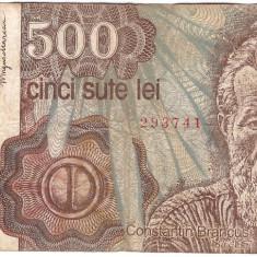 Romania 1991 ianuarie - 500 lei, circulata