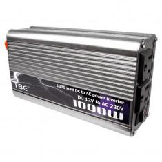 Invertor de tensiune TBE, 1000 W, sinusoida modificata