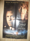 Afis Film -Curaj in Linia Intai -1996de Ed.Zwick, cu Denzel Washington, Meg Ryan