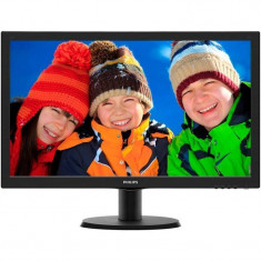 Monitor Philips 243V5LHAB/00 23.6 inch 5ms LED Black