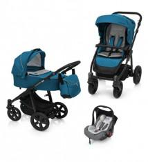 Baby Design Lupo Comfort 05 Turqouise 2018 - Carucior Multifunctional 3 in 1 foto