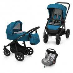 Baby Design Lupo Comfort 05 Turqouise 2018 - Carucior Multifunctional 3 in 1