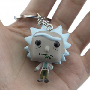 Figurina tip breloc Funko Pop Rick and Morty - Rick