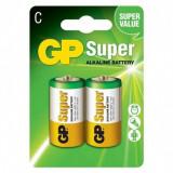 GP Super Alkaline LR14 R14 Tip C Baterie de unica folosinta Conținutul pachetului 1x Blister