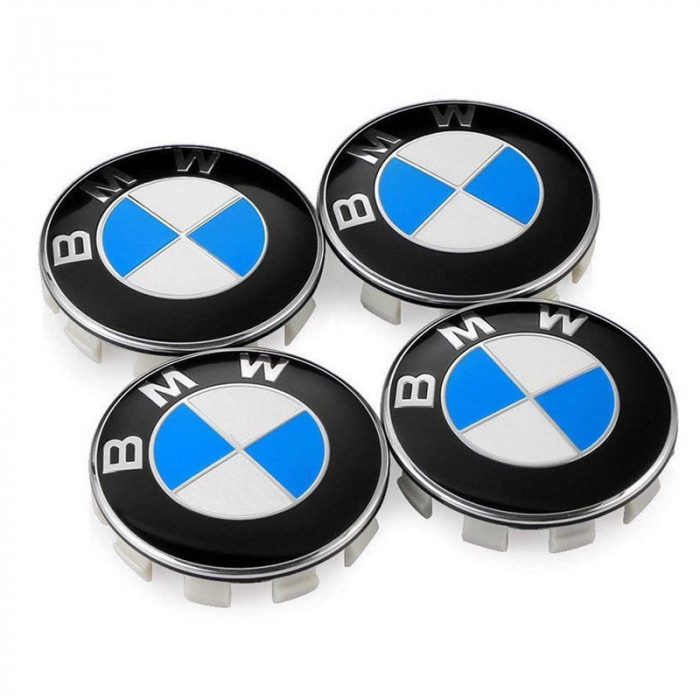 Set 4 capacele roti 68mm, pentru jante aliaj BMW