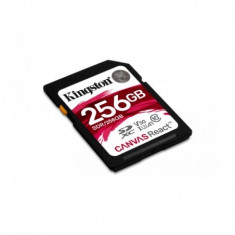Secure digital card kingston 256gb sdxc clasa 10 uhs-i 100mb/s