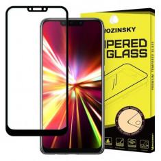 Folie Sticla Wozinsky pentru Huawei Mate 20 Lite 5D Full Cover acopera tot ecranul Full Glue Negru