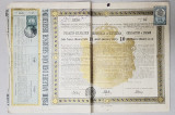 IMPRUMUT CU DOBANDA EMIS DE GUVERNAMANTUL REGAL AL SERBIEI , 10 DINARI AUR , 1888