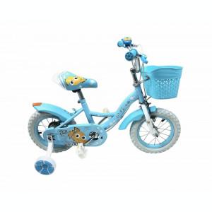 Bicicleta Copii Yellowfish Albastru Deschis 12