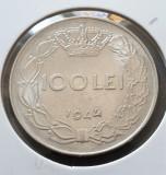 Romania 100 lei 1944 luciu aUNC, Nichel