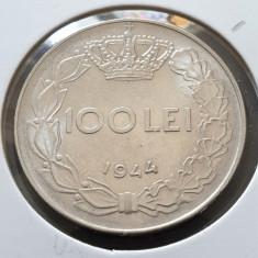 Romania 100 lei 1944 luciu aUNC
