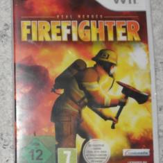 joc nintendo WII Firefighter