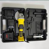 Polizor Unghiular 2Acumulatori 20,4V Flex Polidisc TRANSPORT GRATUIT